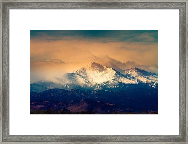She'll Be Coming Around The Mountain Framed Print