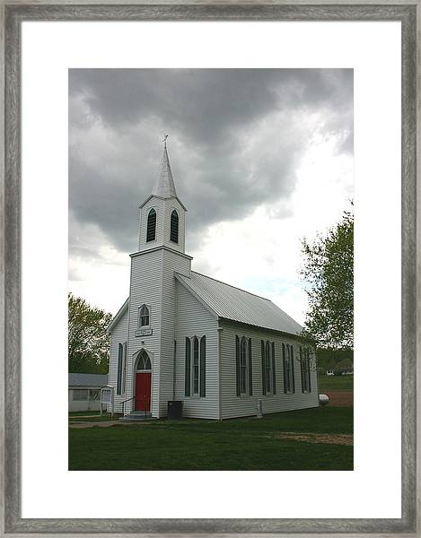 Shelter In A Time Of Storm Framed Print