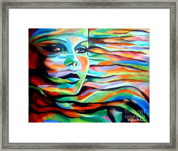 Sheltered By The Wind Framed Print