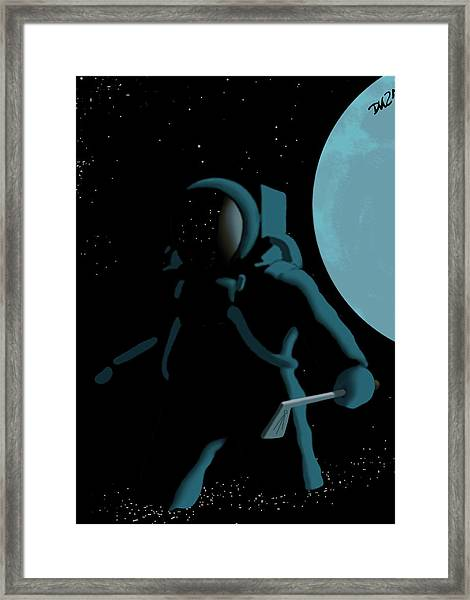 Shepard In The Rough Framed Print