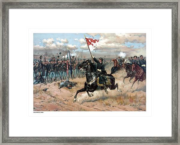 Sheridan's Ride Framed Print