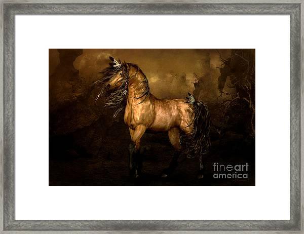 Shikoba Choctaw Horse Framed Print