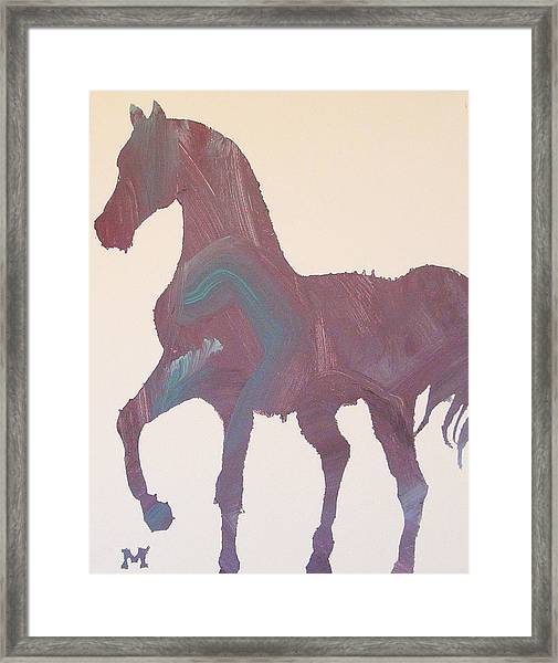 Framed Print featuring the painting Shima by Candace Shrope
