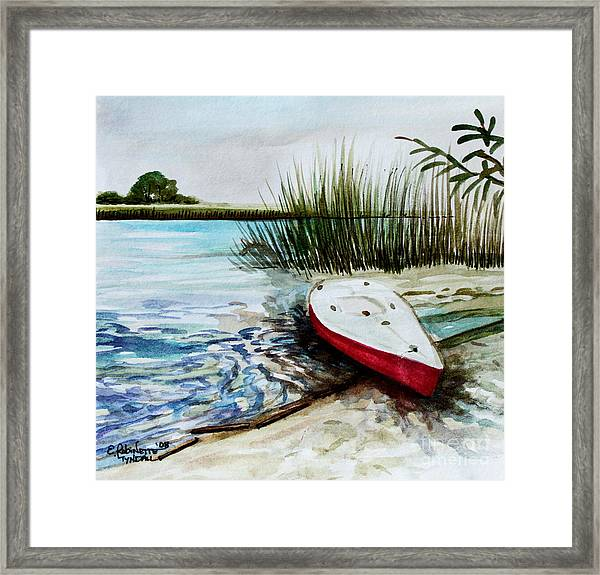 Ship Ahoy Framed Print