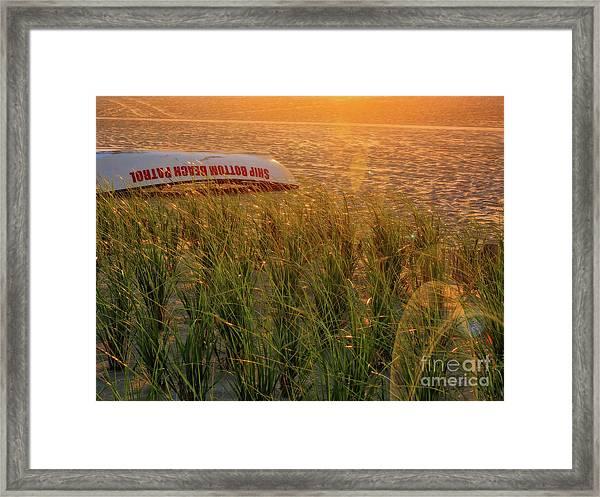 Ship Bottom Beach Patrol Framed Print