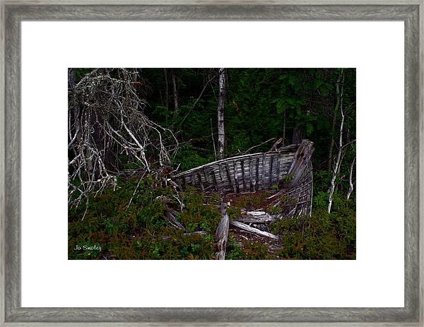 Ship Wrecked Framed Print