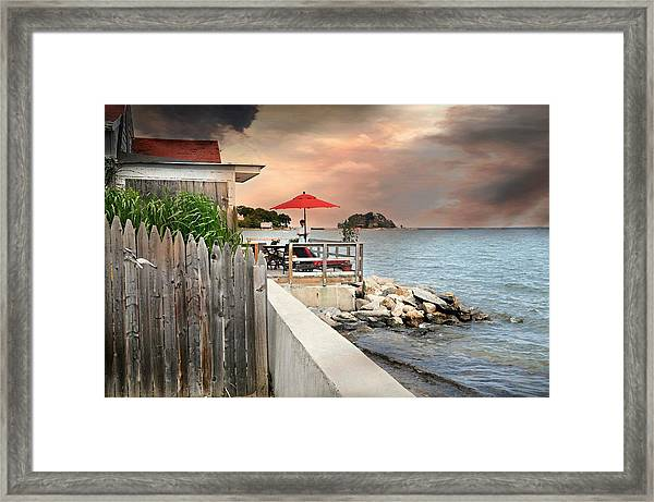 Shippan Point Framed Print