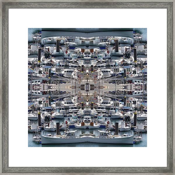 Ships Of Ciutadella I Framed Print