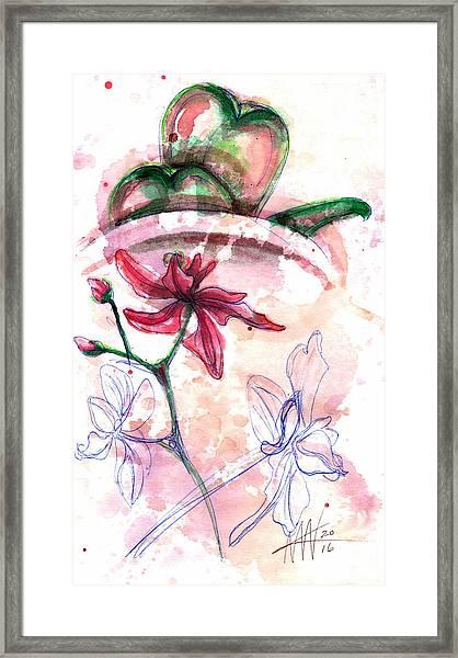 Shiraz Orchid II Framed Print