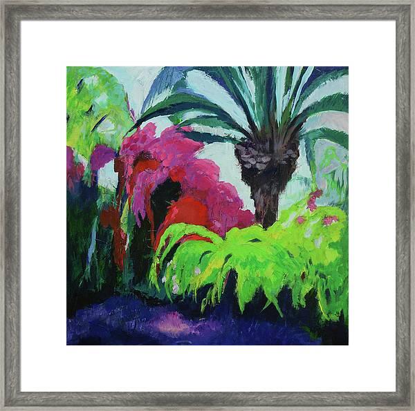 Shirley's Garden Framed Print