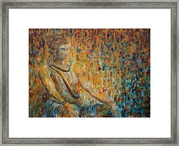 Shiva Meditation 2 Framed Print