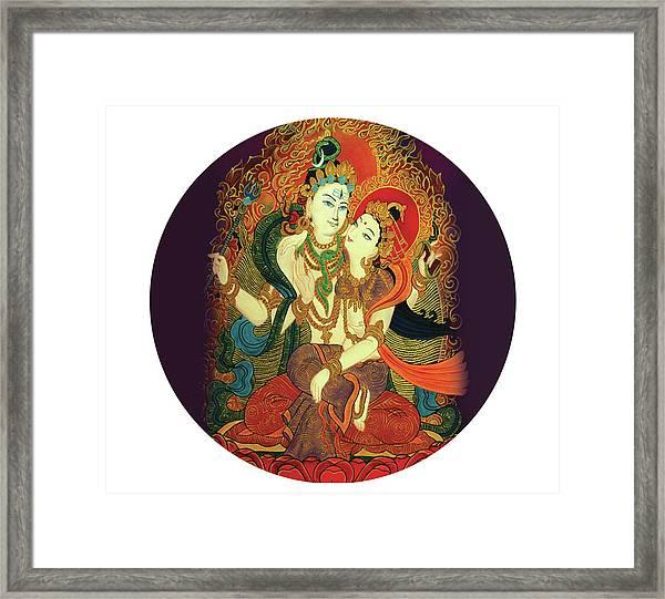 Shiva Shakti Framed Print