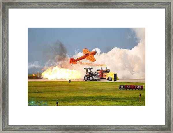 Jet Truck Framed Print