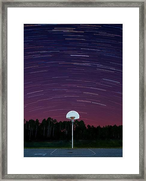Shoot For The Stars Framed Print
