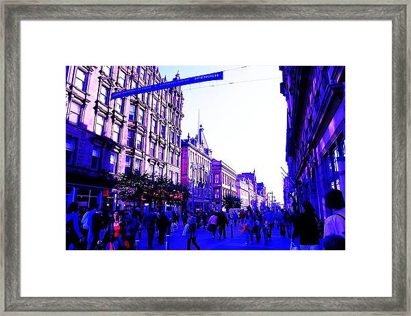 Framed Print featuring the photograph Shopping by HweeYen Ong