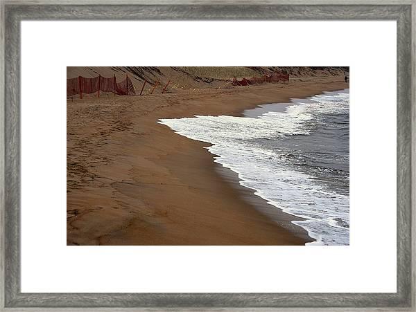 Shore Art - Plum Island Framed Print