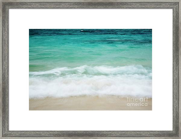 Shorelines IIi Framed Print