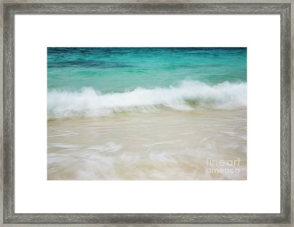 Shorelines Iv Framed Print