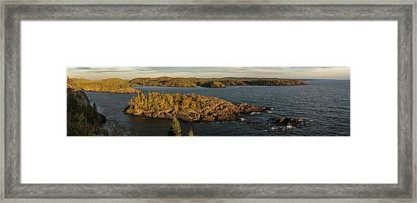 Shores Of Pukaskwa Framed Print