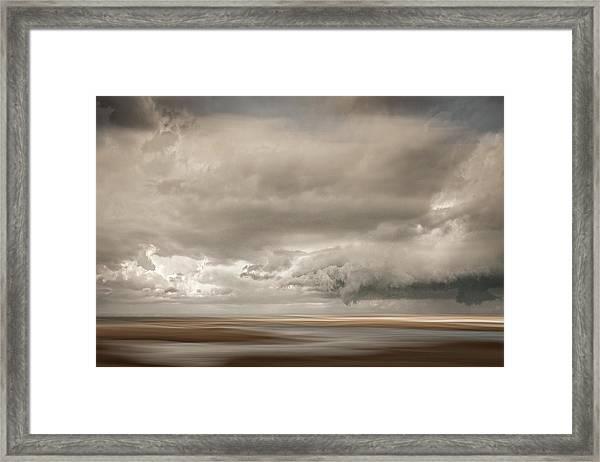 Short Wharf Creek 4 Framed Print