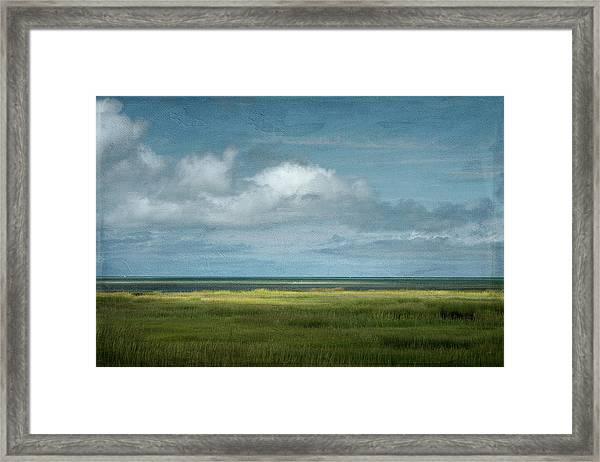 Short Wharf Creek 5 Framed Print
