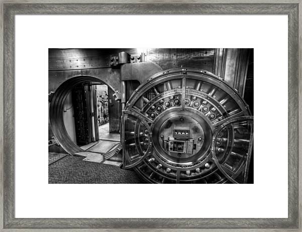 Show Me The Money Framed Print