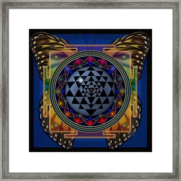 Shri Yantra 1 Framed Print