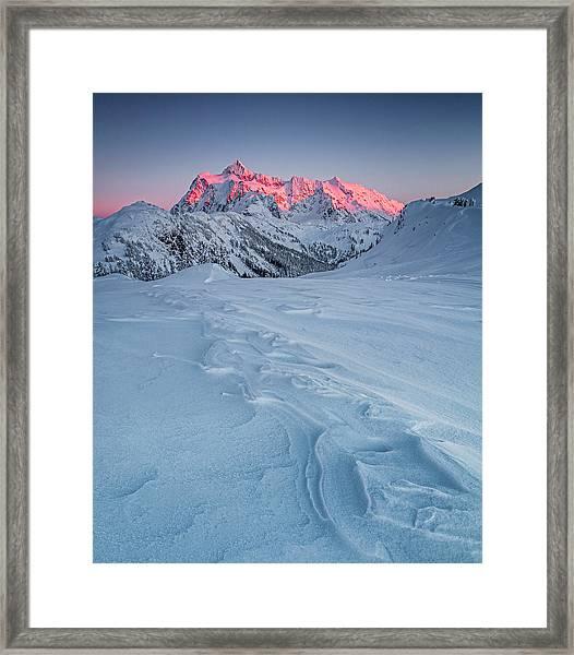 Shuksan's Shine Framed Print
