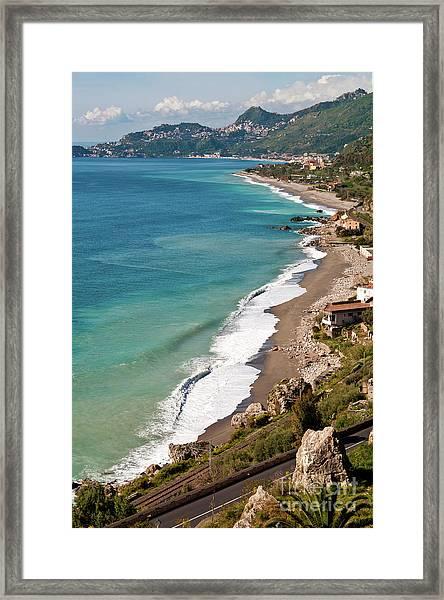 Sicilian Sea Sound Framed Print