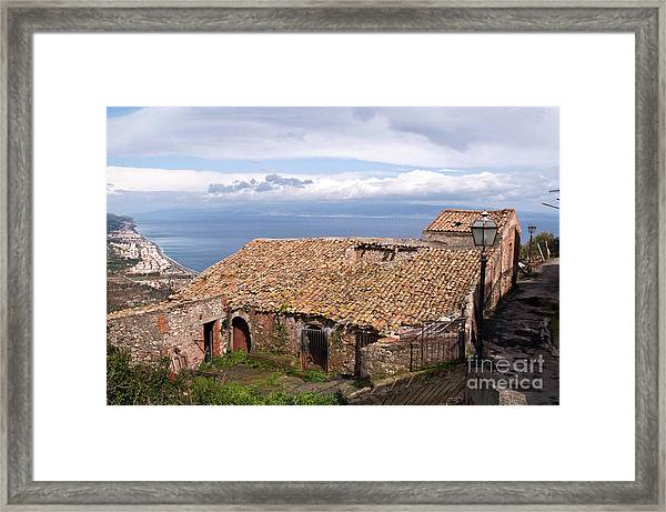 Sicilian Forgotten Sound Framed Print