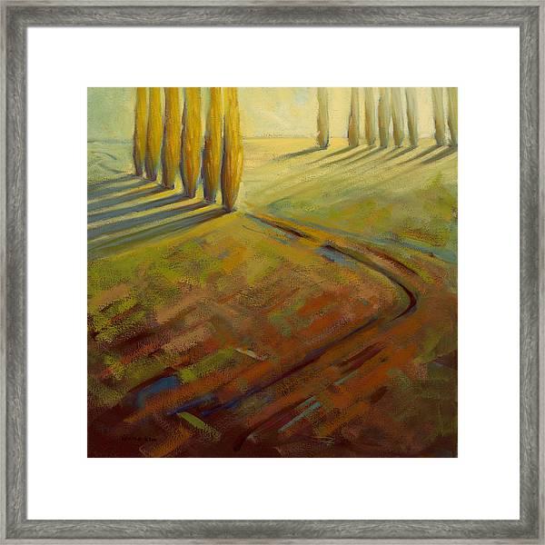 Sienna Framed Print