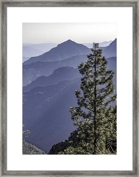 Sierra Nevada Foothills Framed Print