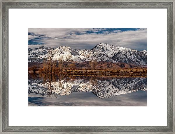 Sierra Reflections 2 Framed Print