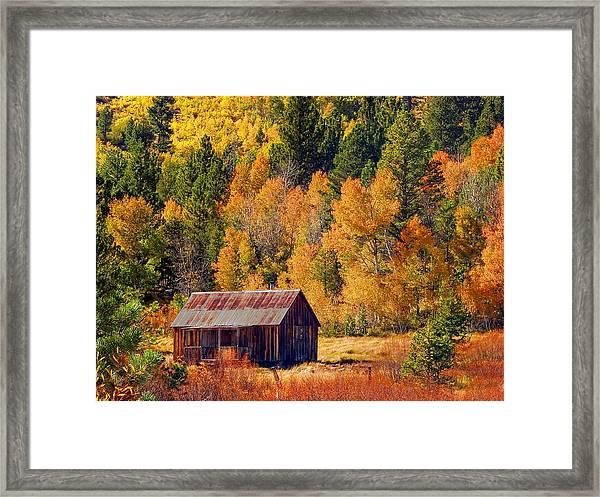 Sierra Solitude Framed Print