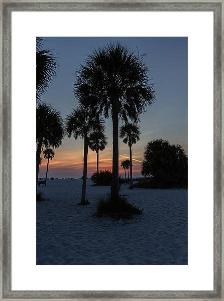 Siesta Beach Framed Print