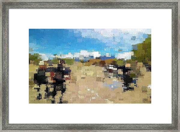 What Do You See? Framed Print