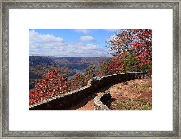 Signal Point Framed Print