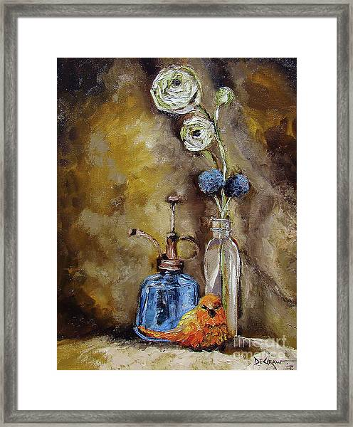 Signs Of Spring V2 Framed Print