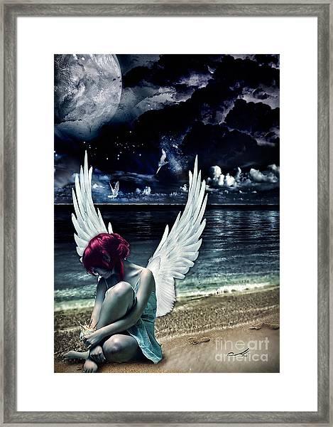Silence Of An Angel Framed Print