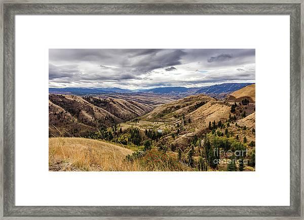 Silence Of Whitebird Canyon Idaho Journey Landscape Photography By Kaylyn Franks  Framed Print
