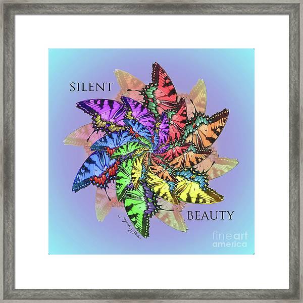 Silent Beauty Framed Print