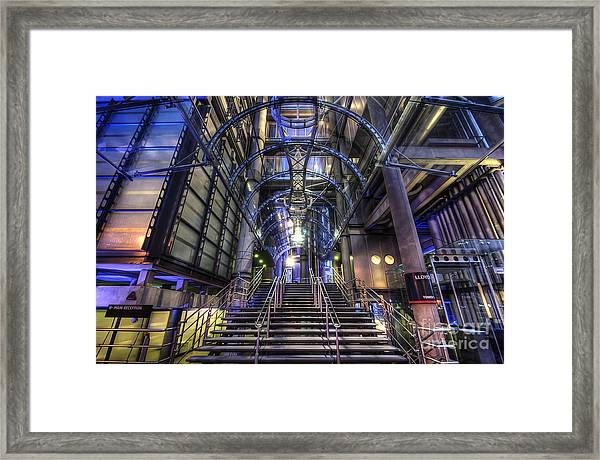 Silk And Steel 1.0 Framed Print