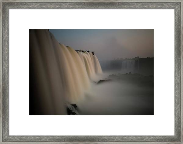 Silk Torrent Framed Print