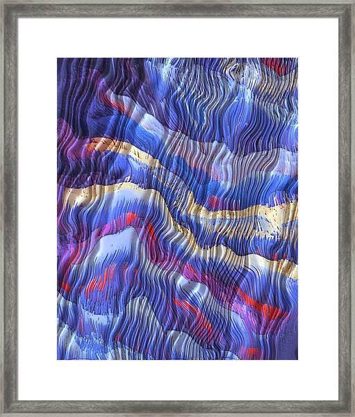 Silky Dreams Framed Print by Susan  Epps Oliver
