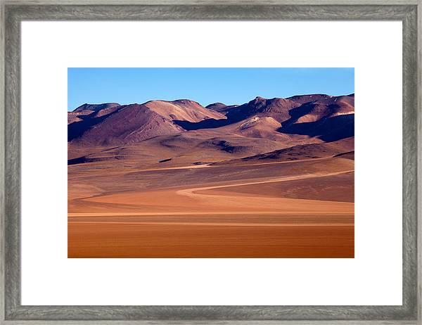 Siloli Desert Framed Print