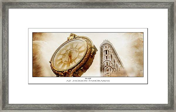 Silver And Gold Poster Print Framed Print