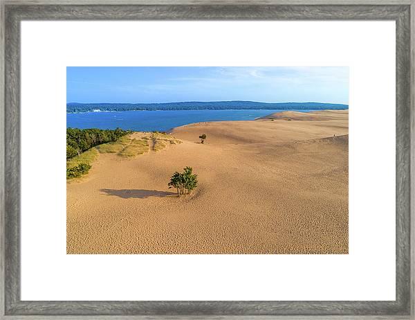 Silver Lake Dunes Framed Print