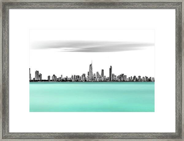 Silver Linings Framed Print