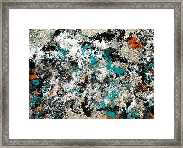 Silver Skies Framed Print by Teodoro De La Santa