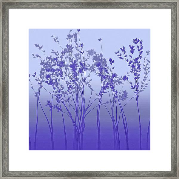 Silver Twilight Framed Print